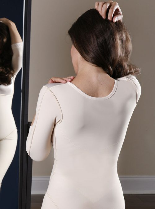 SC-265 Below the Knee Body Shaper with Sleeves