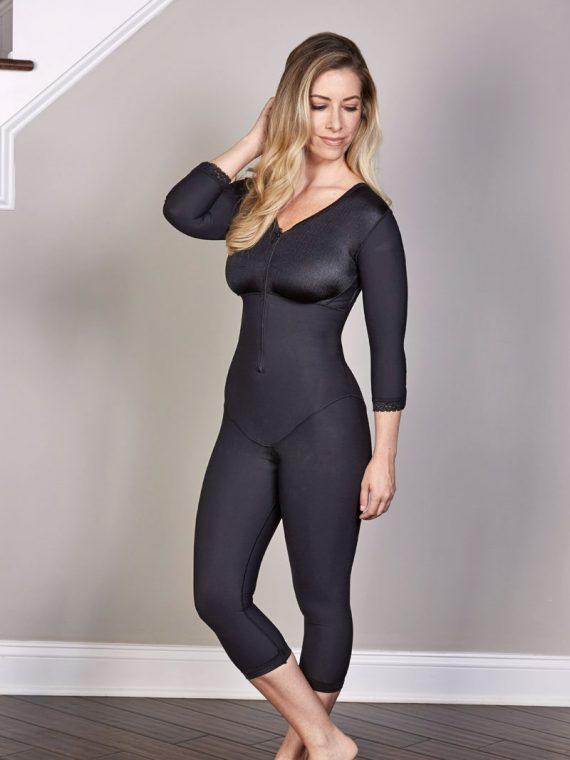 SC-265 SCULPTURES BELOW THE KNEE BODY SHAPER WITH SLEEVES
