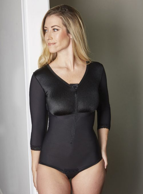 SC-26 SCULPTURES ABDOMINOPLASTY BODY SHAPER WITH SLEEVES