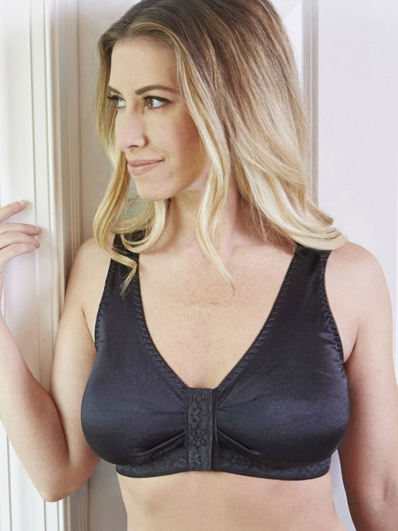 T-348 ADJUSTABLE VELCRO®STRAP BRA WITH MOLDED CUP